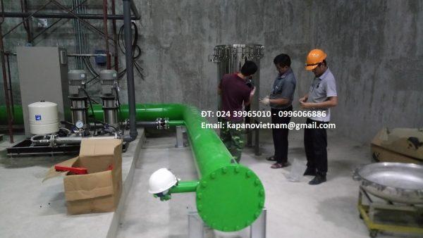 Bộ lọc nước đầu nguồn công nghiệp