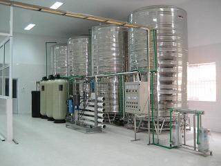 Quy trình sản xuất nước đóng chai đóng bình
