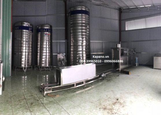 Dây chuyền sản xuất nước đóng bình tự động