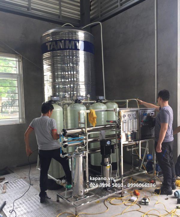 Hệ thống RO tinh khiết công nghiệp 2000 lít/giờ