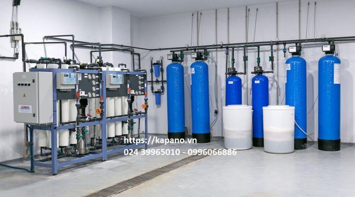 Hệ thống máy lọc nước RO DI công suất lớn