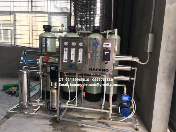 Hệ thống máy lọc nước RO DI EC5 2000 Kapano