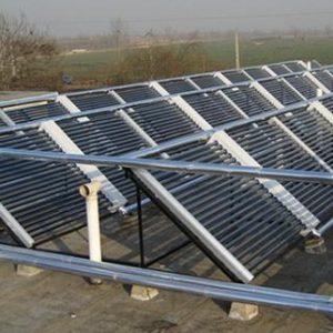 Dàn máy nước nóng năng lượng mặt trời công nghiệp không chịu áp 500 lít